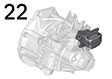 22 Engine and gearbox suspension