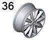 36 Wheels