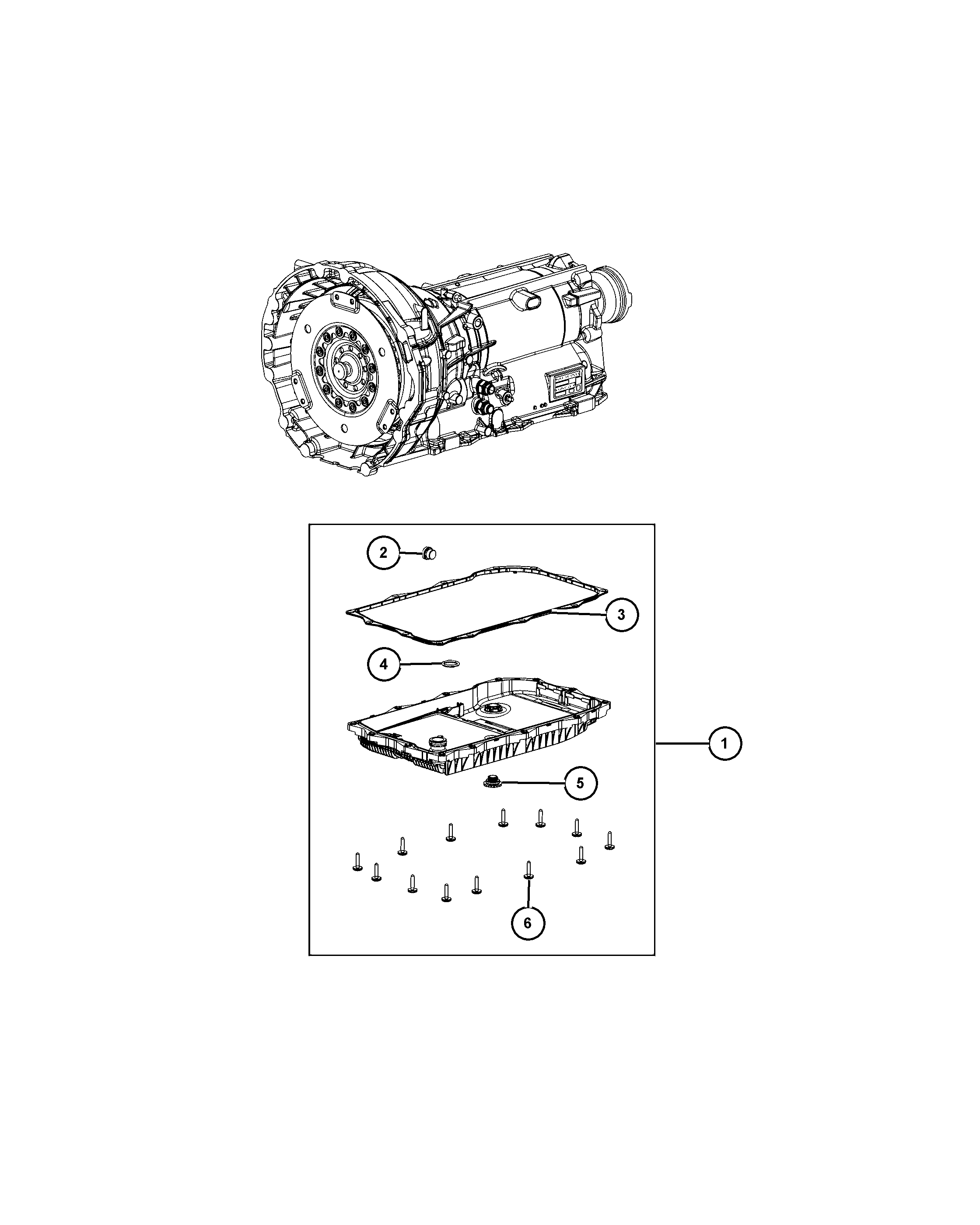 chrysler 2013 ld dodge charger 21dfl 845re 8 speed automatic Ford Front Wheel Bearing Diagram
