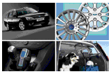 Accessories,Styling,Suspension System And Wheels,Protection And Safety,Transportation,Infotainment,Comfort,Other Accessories