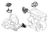 Кузов и лакокрасочное покрытие.Опоры двигателя и коробки передач