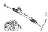 Шасси.Рулевой механизм, шланги и насос