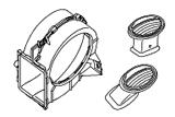 Электрические элементы.Вент.обд.отопителя,дефл.и каналы