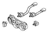 Электрические элементы.Орг.упр. и доп.отопитель HVAC