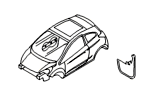 Кузов и лакокрасочное покрытие.Кузов б/передка и закрывеам.эл-тов