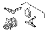Rear Axle Less Brakes.Rear Axle / Suspension