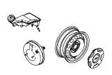 Тормоза - торм.трубопр. - колеса