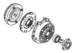 V Engine - Petrol.Clutch And Flywheel