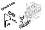 Taunus V6 2.4, 2.9.Engine/Block And Internals