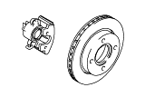 Brakes - Brake Pipes - Wheels.Rear Brakes