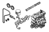 Cosworth(CH).Engine/Block And Internals