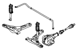 Front Axle Less Brakes