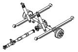 Rear Axle Less Brakes