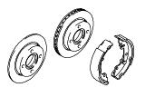 Brakes - Brake Pipes - Wheels.Rear Brakes