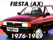 Fiesta AX 1976-1989