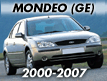 Mondeo GE 2000-2007