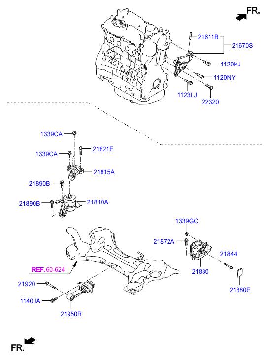 2018 General, 2018 SONATA 14 (2014-), ENGINE, 20216B ENGINE