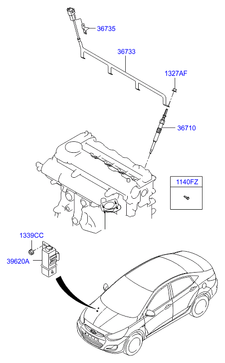 2001 Powerstroke Glow Plug Relay