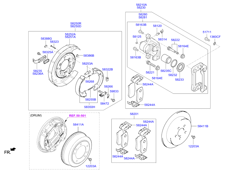 Hyundai H1 Wiring Diagrams