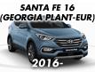 SANTA FE 16 (GEORGIA PLANT-EUR) (2016-)
