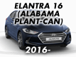ELANTRA 16 (ALABAMA PLANT-CAN) (2016-)