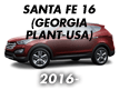 SANTA FE 16 (GEORGIA PLANT-USA) (2016-)