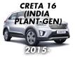 CRETA 16 (INDIA PLANT-GEN) (2015-)