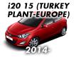 i20 15 (TURKEY PLANT-EUROPE) (2014-)