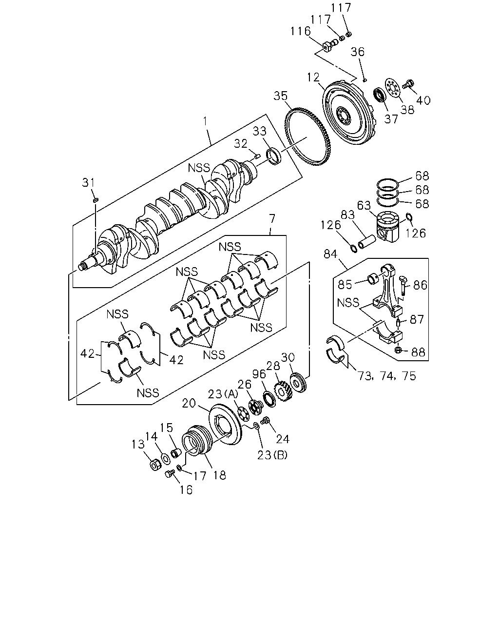 Ce 10658 Exr Rhd 90 95 0 Engine Emission Cat 236 Diagram Code