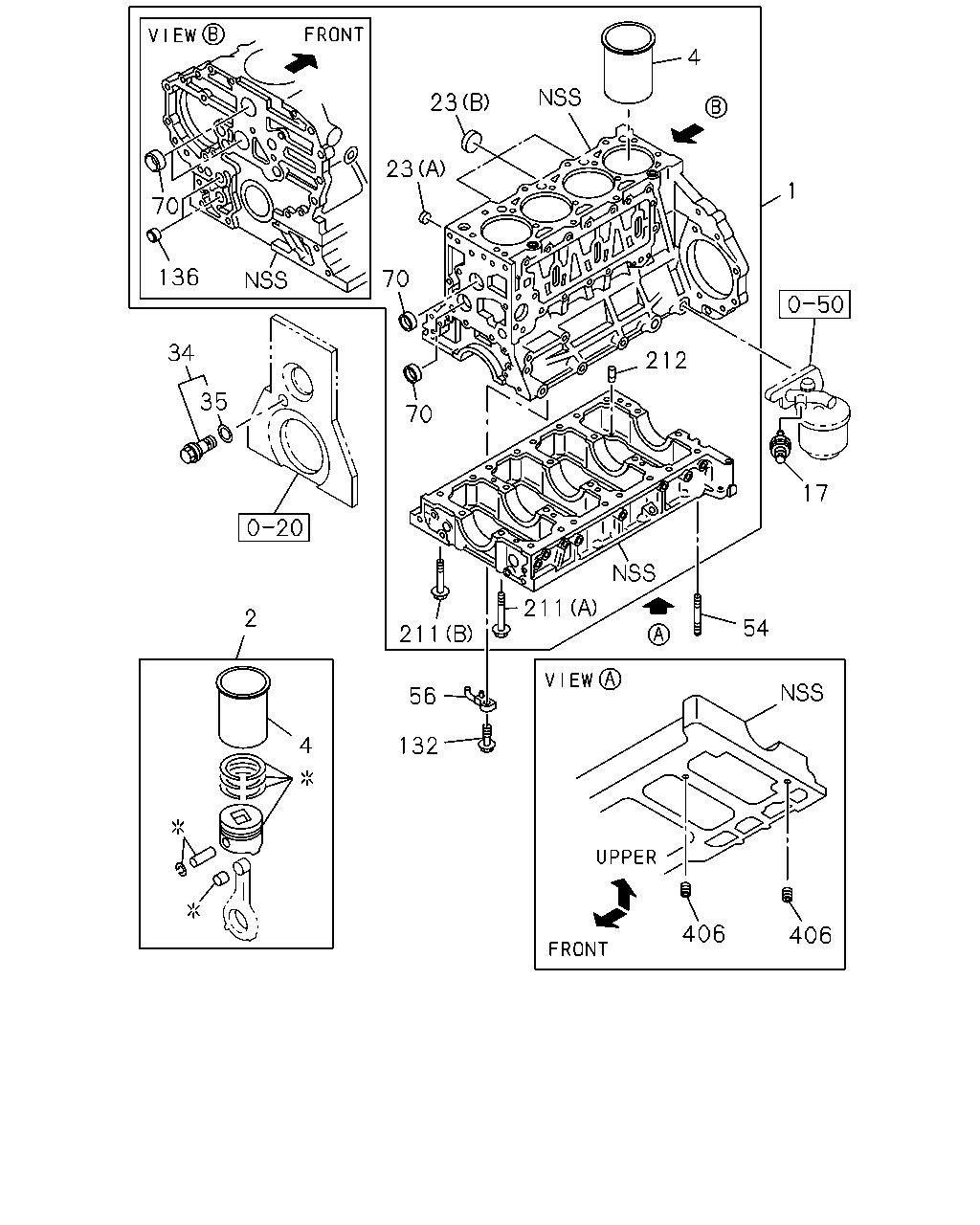 WRG-7447] Isuzu 4he1 Engine Diagram