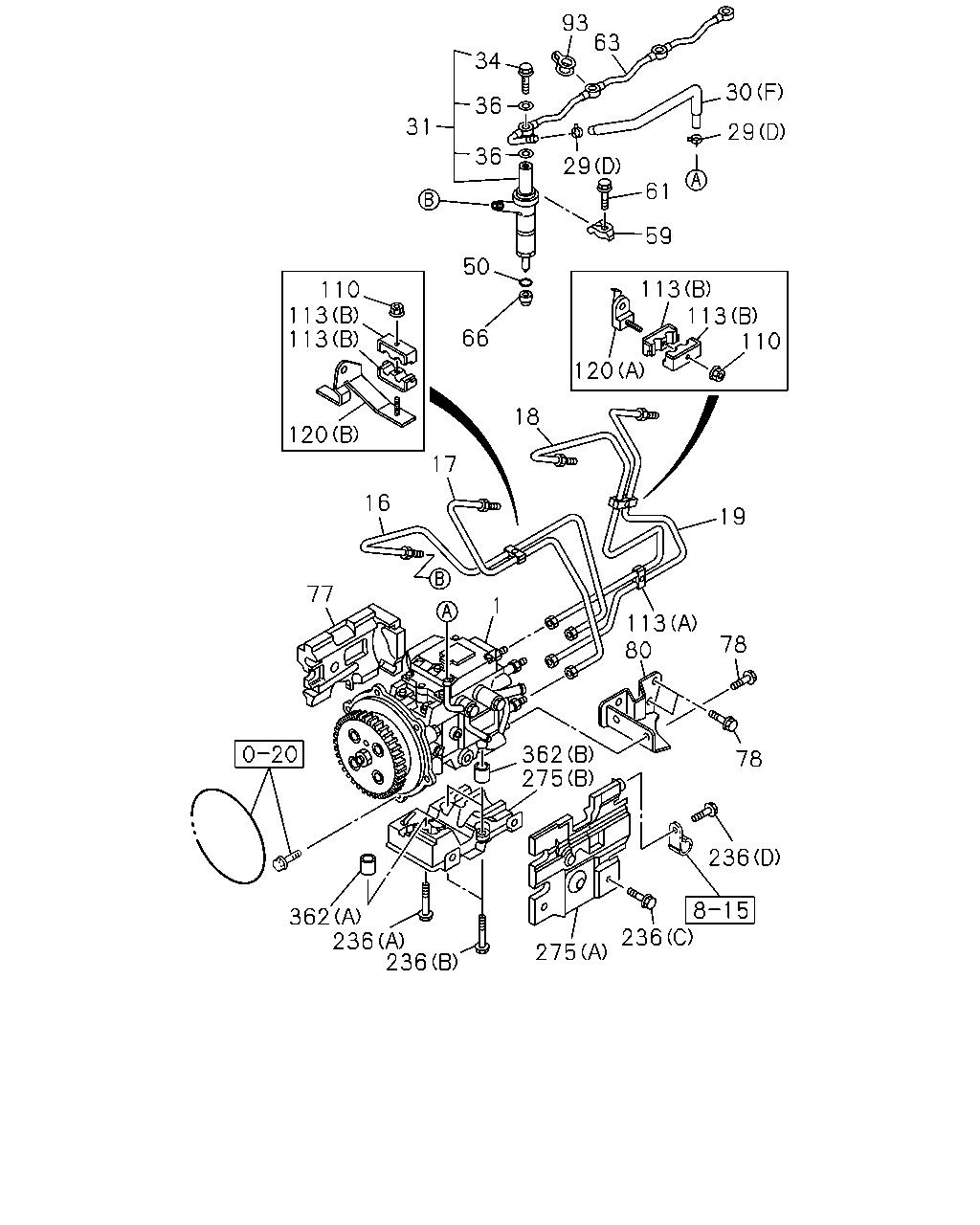 N 50946 Nkreurope Rhd 04 0 Engine Emission Cat 236 Diagram Parts