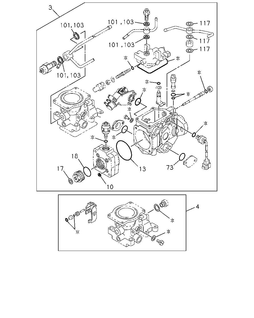 N 50693 Nhr 94 98 0 Engine Emission Electrical F 117 Diagram Parts