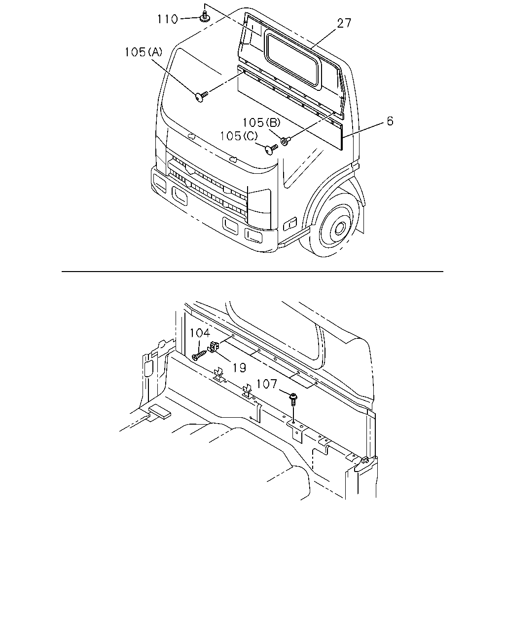 N 51150 Nlr Nmreu Rhd Eu4 09 6 Exterior Body Glass Cat 3046 Engine Diagram Parts