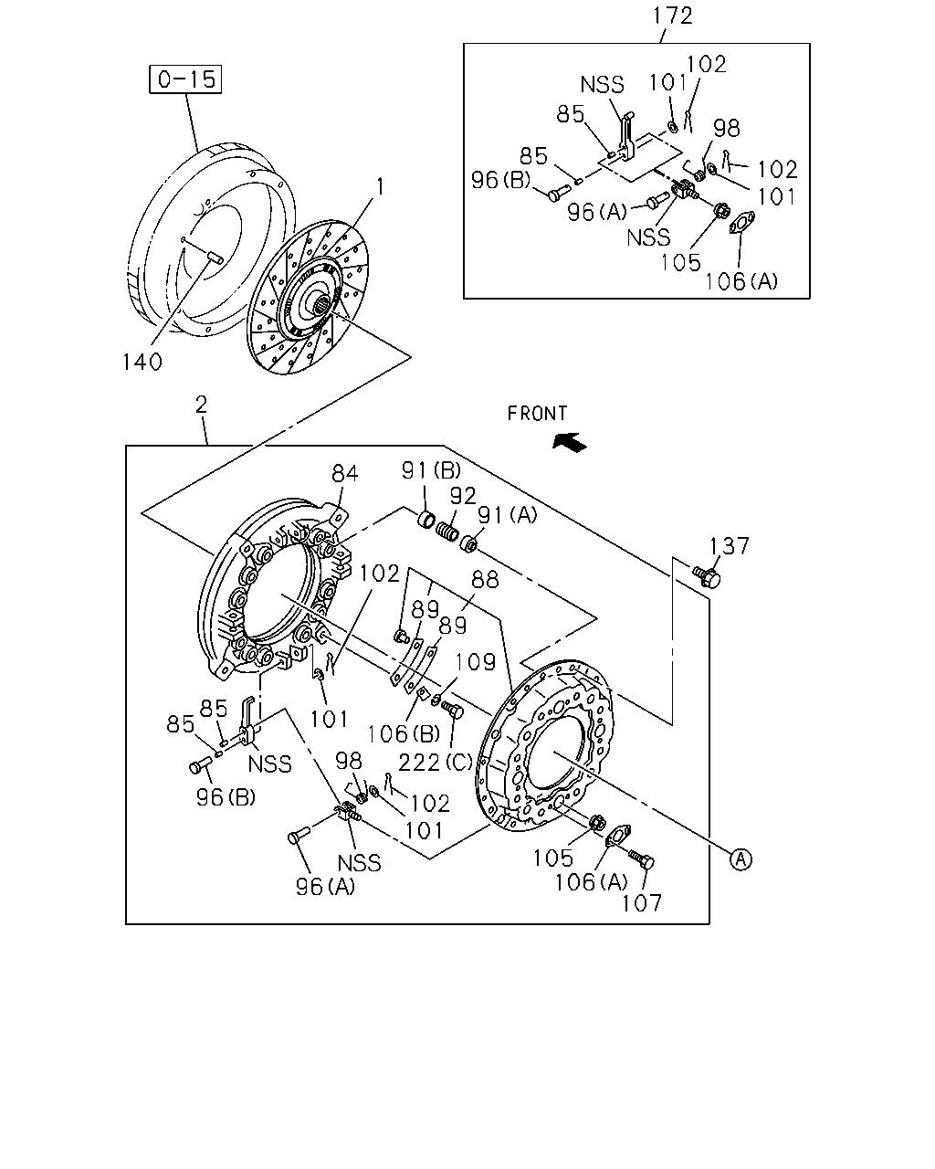 F&G, 11604 - FVR(MALAYSIA) 14 - , 2 - Clutch, Transmission