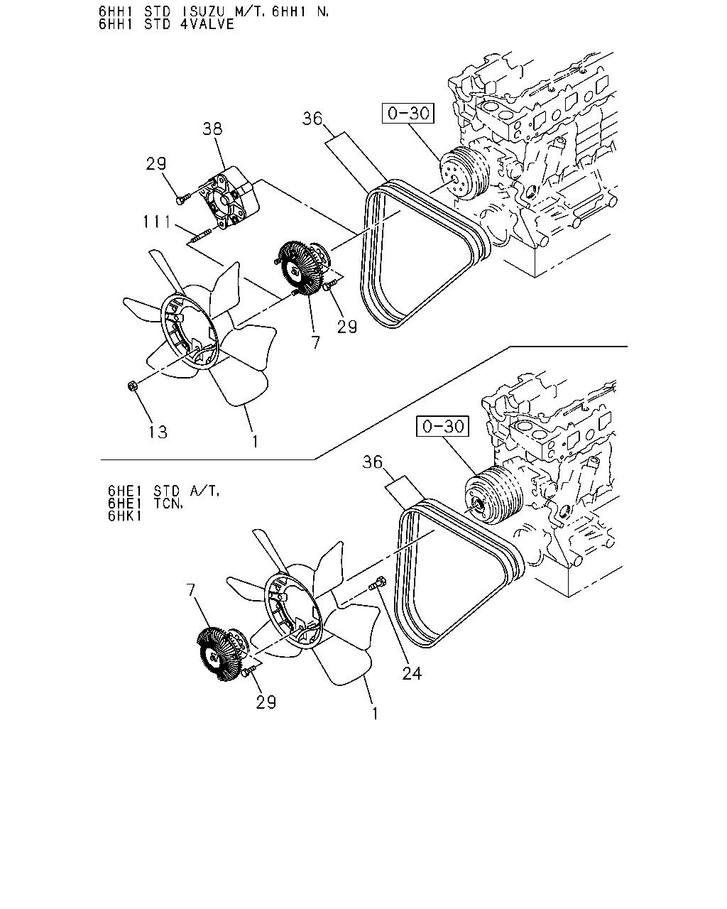 Fg 10700 Fsr3233rhd 96 0 Engine Emission Isuzu 6hk1 Diagram Code