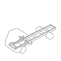 5 - Frame, Cab Mounting
