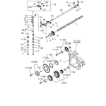 0-14 - CAMSHAFT AND VALVE