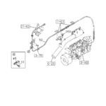 0-35 - ENGINE CONTROL VALVE AND LEVER