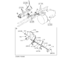 2-36A - MANUAL TRANSMISSION CONT LINK AND CABLE