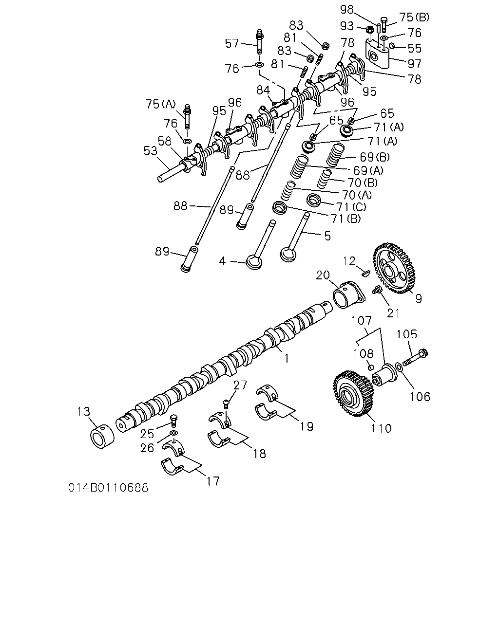 Ce 10688 Cxz Cyz 95 99 0 Engine Emission 6 4l Diagram Parts