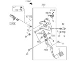 2-03 - CLUTCH PEDAL AND CONTROL