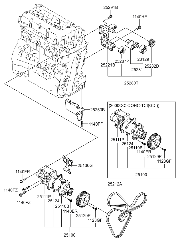 Away From Each Other Lower Diagramsubaru Forester 25l Dohc Engine