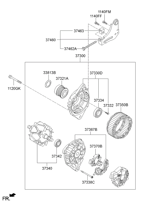 2011 Kia Soul Engine Diagram