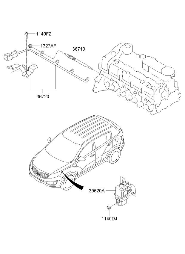 Diagram Of Diesel Glow Plug