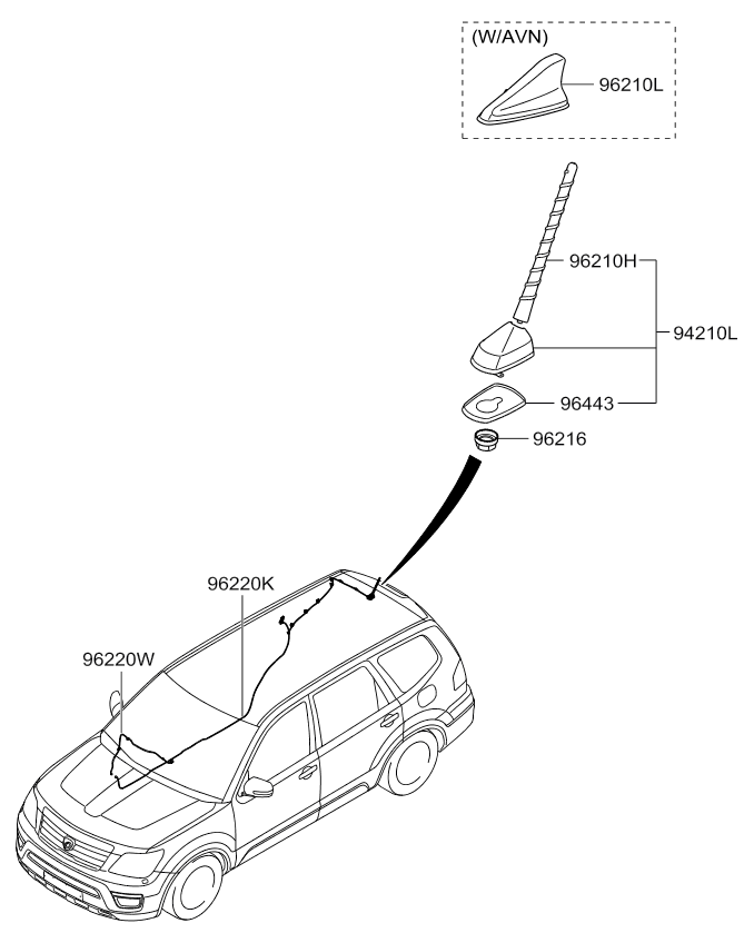 Telescoping Antenna Car Radio Wiring