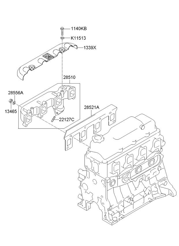 2006 Malibu Exhaust Diagram