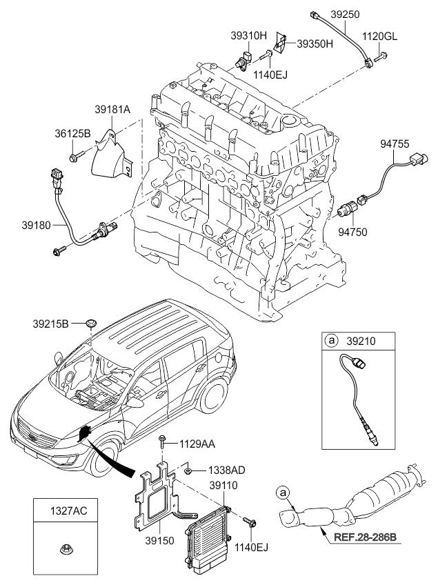 Kia Sportage Knock Sensor