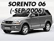 SORENTO 06: -SEP.2006 (2006-2006)