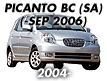 PICANTO 04: -SEP.2006 (2004-2006)