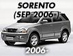 SORENTO 06: SEP.2006- (2006-2009)